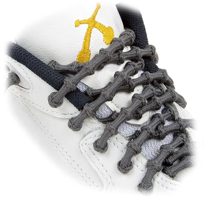 Xtenex Cordones para zapatos unisex, rojo/blanco, 75 cm