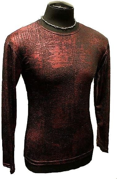 64b743b3 Shrine Gothic Steampunk Cyber Goth Punk Rocker Shirt (XL) at Amazon ...