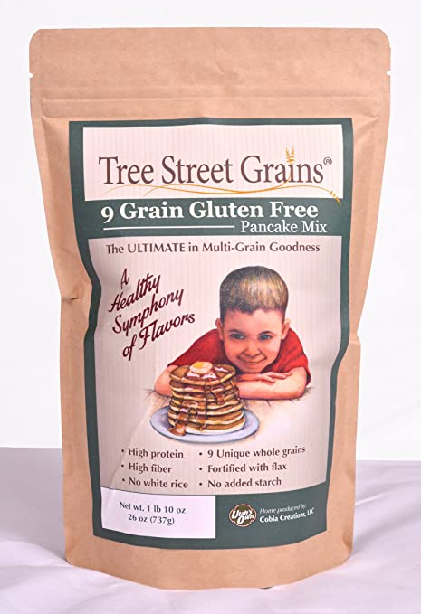 9 Ancient Whole Grain Gluten Free Pancake Mix, 26 oz