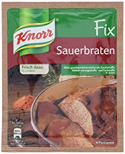 Knorr Fix sauerbraten (Sauerbraten) (Pack of 4)