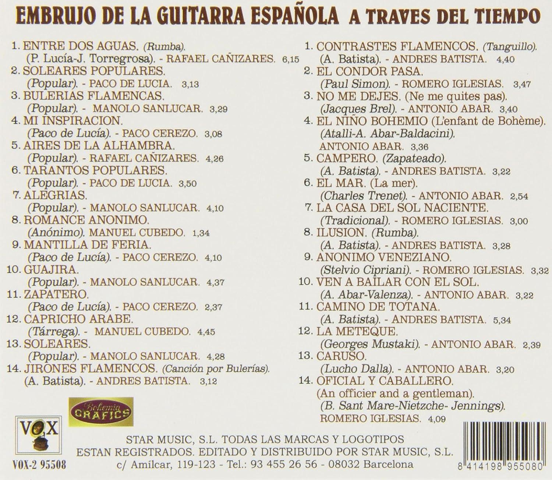 Embrujo De La Guitarra Española A Través Del Tiempo : Varios ...