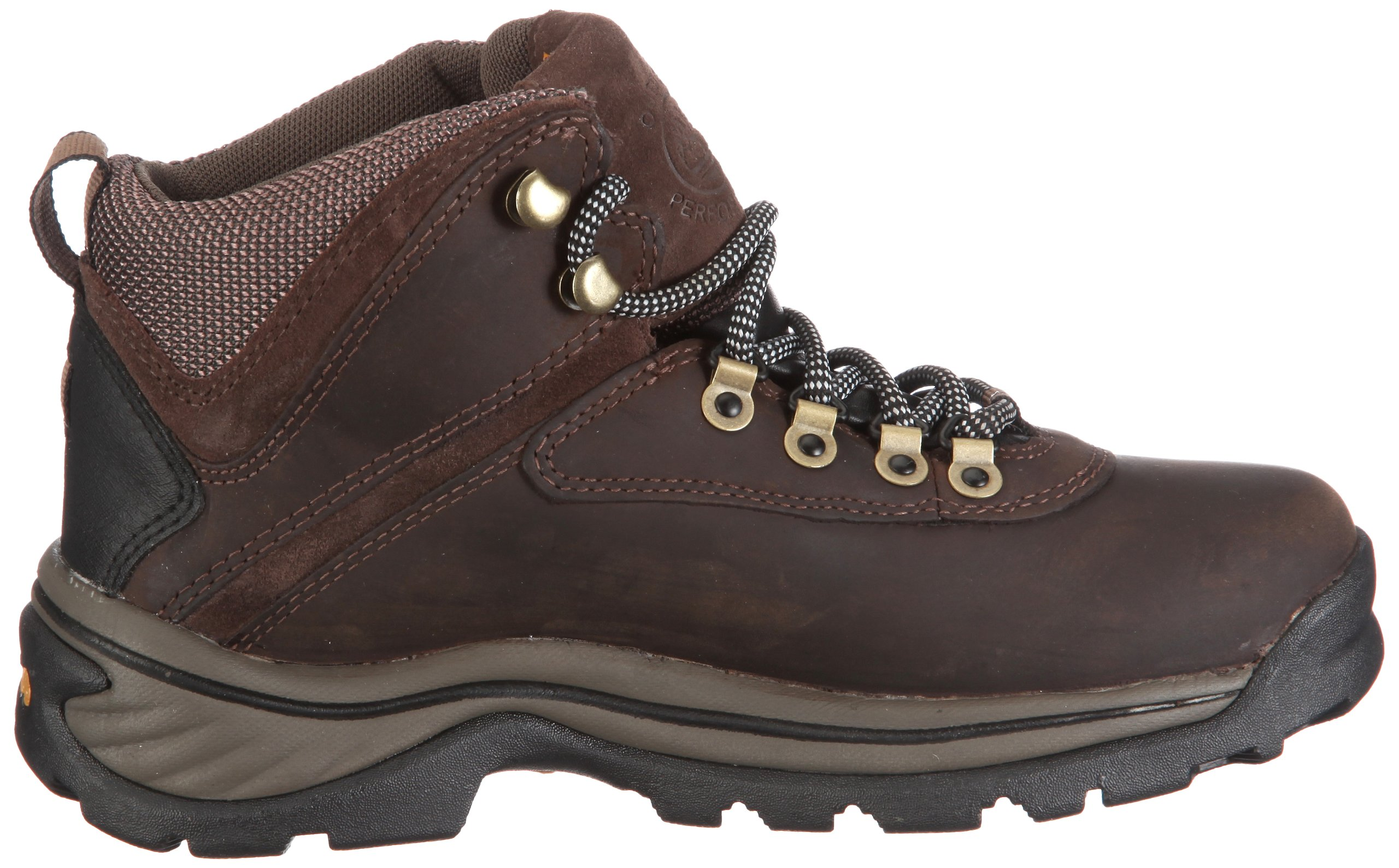 Timberland Women's White Ledge Mid Ankle Boot,Brown,9.5 W US by Timberland (Image #6)