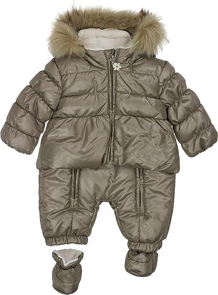 Kanz Baby-M/ädchen M Kapuze Schneeanzug