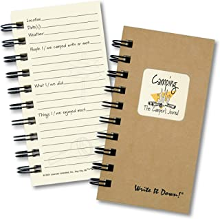 product image for Camping, The Campers Journal - MINI Kraft Hard Cover (prompts on every page, recycled paper, read more...)