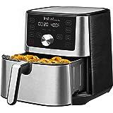 Instant Vortex Plus 6-in-1 Air Fryer, 6 Quart Black, 4 Customizable Smart Cooking Programs, Digital Touchscreen, Large Non-St