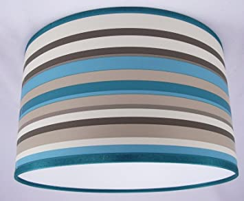 8 20cm lampshade handmade in uk arthouse striped wallpaper 8 20cm lampshade handmade in uk arthouse striped wallpaper sophia teal amazon kitchen home aloadofball Image collections