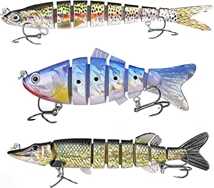 Bionic Swimming Lure Fishing Baits for all Kinds of Fish in Fresh or Saltwater