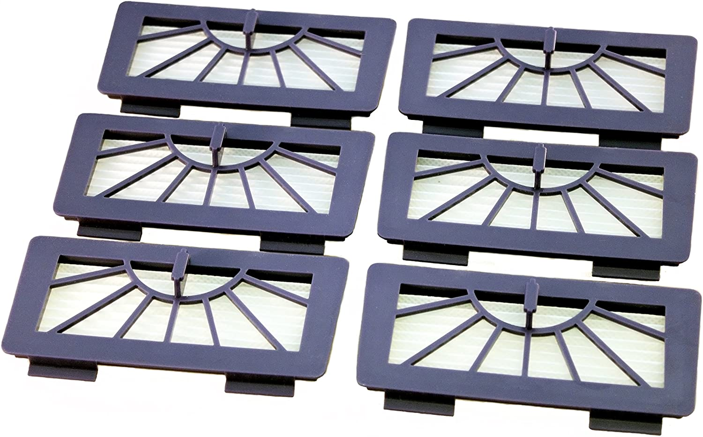 Neato XV 3 Seitenbürsten für Vorwerk Kobold VR100 3 HEPA Allergie Filter