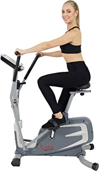 Sunny SF-B2630 Health and Fitness Cross Training Magnetic Upright Bike