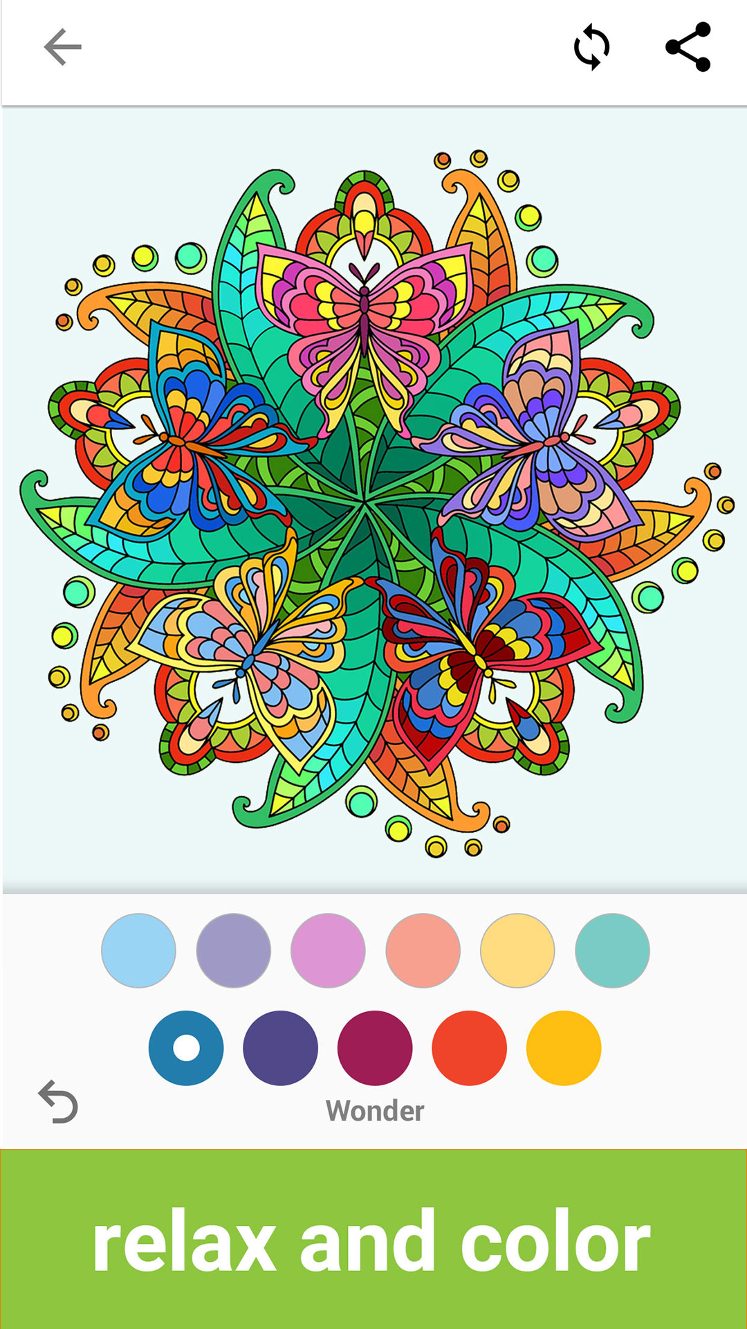 Amazon ColorFlow Coloring Book For Adults Mandala Appstore Android