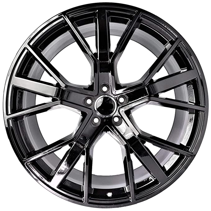 Amazon Com 22 Inch Black Wheels Rims Full Set Of 4 Fit For Audi