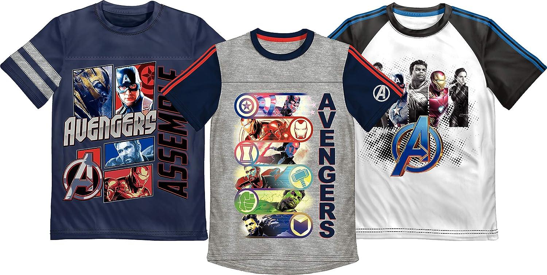 The Avengers Shirt Boy/'s XS Gray Iron Man Hulk Kids Graphic Shirt New ST162