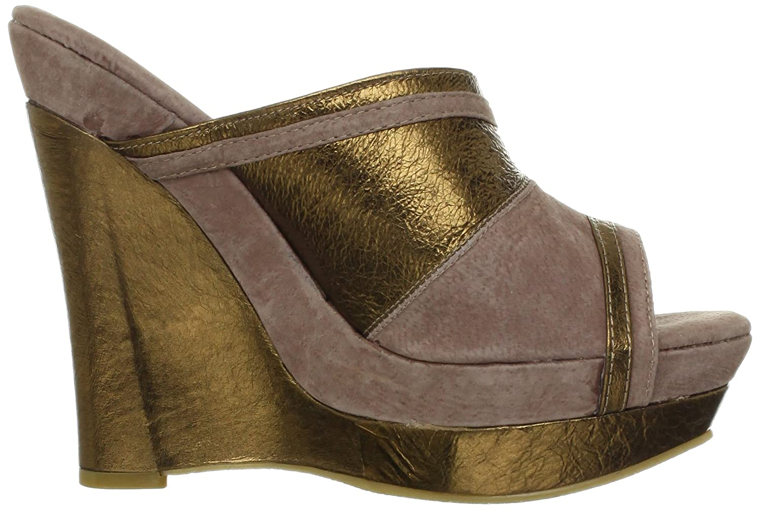 Very Volatile Women's Supercharge Wedge Sandal B009YDRBZG 9 B(M) US|Bronze