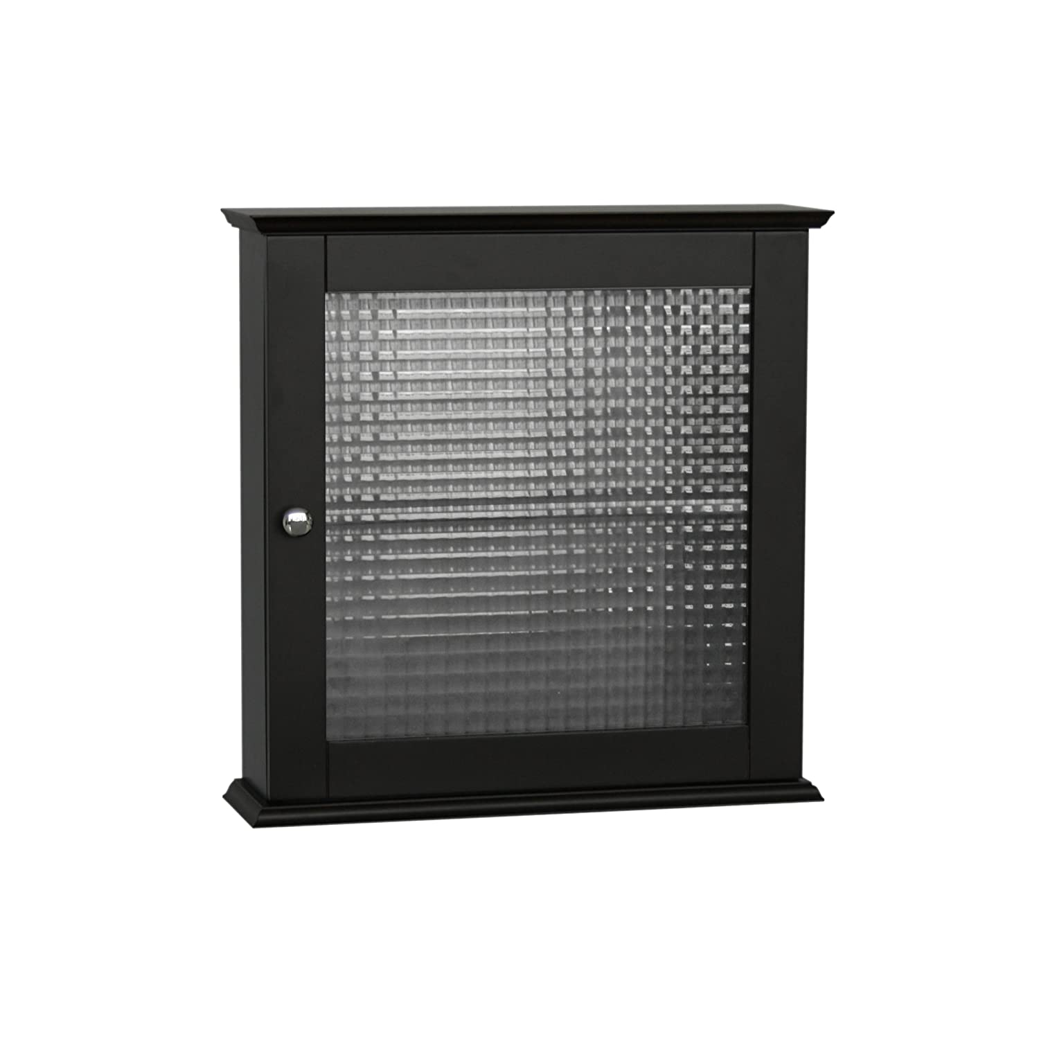 Amazon.com: Elegant Home Fashions Chesterfield Medicine Cabinet With One  Glass Door: Kitchen U0026 Dining