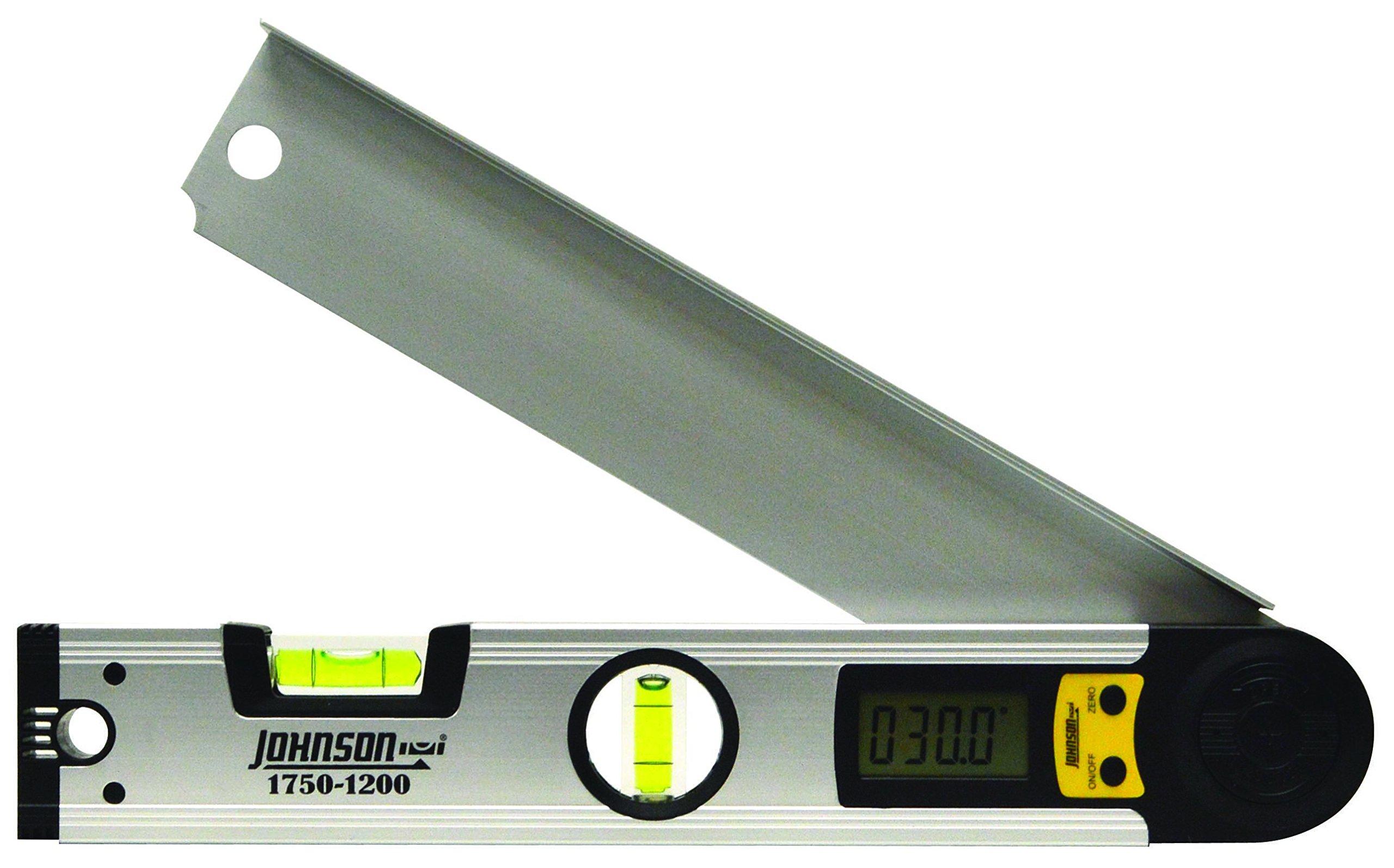 Johnson Level & Tool 1750-1200 Digital Angle Locator, 12-Inch