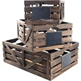 Premium Home Wooden Crates: Home Décor wood crates for display, wooden boxes for crafts, decorative wooden crate, Wood box st