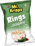 Mr Krisps Potato Rings, Jalapeno Flavour, 80 gm