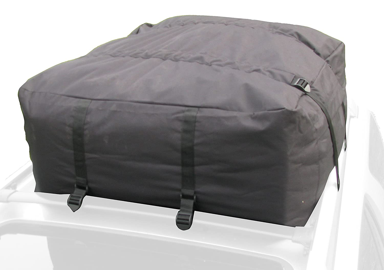 Heininger 3021 13 Cubic-Feet Weather Resistant Roof Top Cargo Bag (Black)