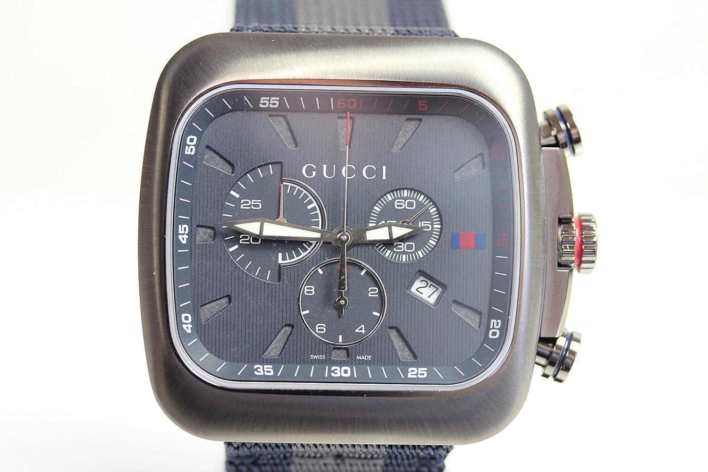 【MT1088】【中古】【美品】腕時計 GUCCI グッチ クーペ クロノグラフ クォーツ メンズ 腕時計 SS ステンレススチール(SS)/(YA131203) 【質屋出店】【並行輸入品】 B07B7F35QZ