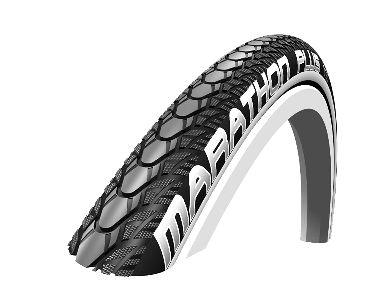 Schwalbe TA26HS348R Marathon Plus - Neumático para sillas de ruedas (26