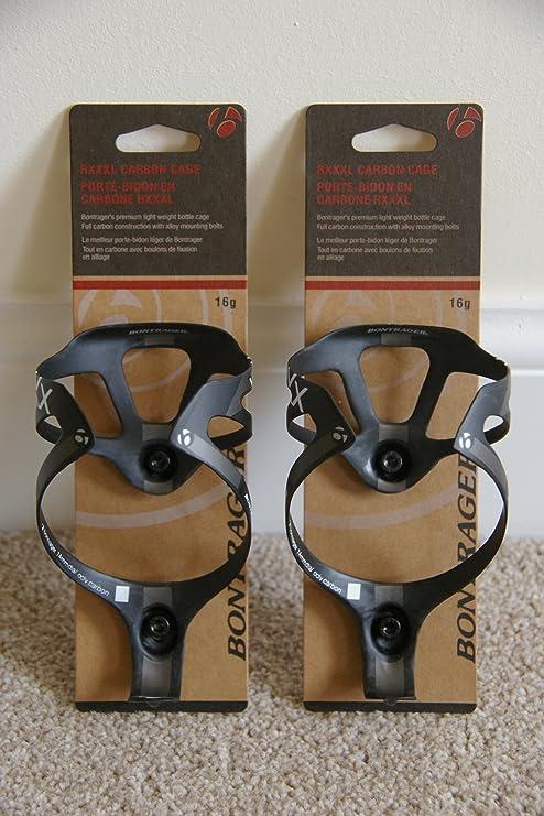 Bontrager - Soporte de carbono para botellas (incluye tornillos ...