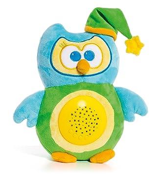 Molto- Light Owl Gusy Luz Proyector Musical de Peluche Lámpara ...