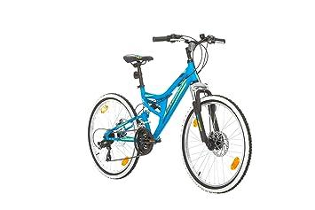 "Bikesport DIRECTION Bicicleta para niño, Tamaño de rueda: 24"", Aluminio cuadro 21"