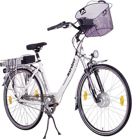 Karcher 280392 - Bicicleta eléctrica, Talla L (175-185 cm), Color ...