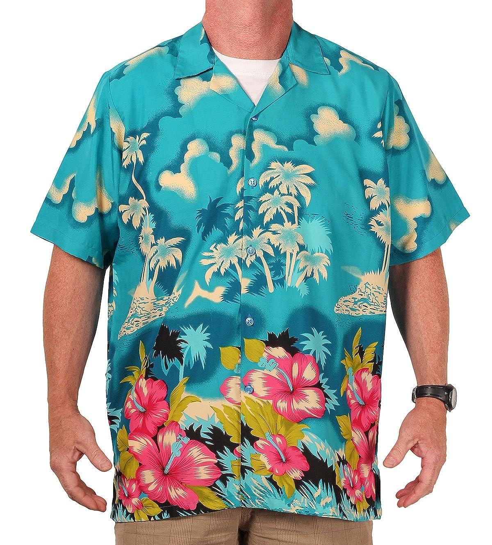 Island Shirtworks Mens Hawaiian Print Shirt