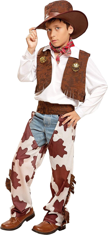 My Other Me Me-200835 Disfraz de vaquero para niño, color blanco y ...
