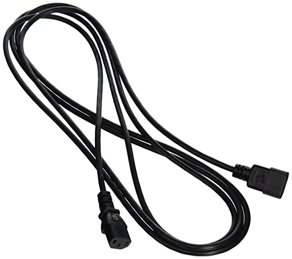 Amazon Com C2g 03141 18 Awg Computer Power Extension Cord
