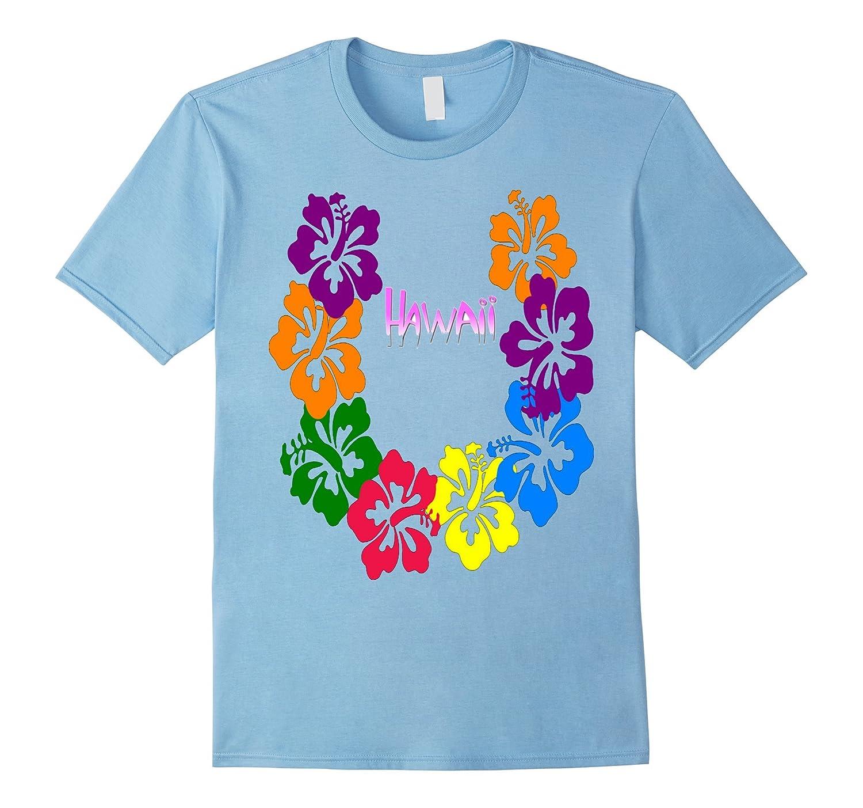 Hawaiian Tee Hawaii Aloha State T-Shirt-T-Shirt