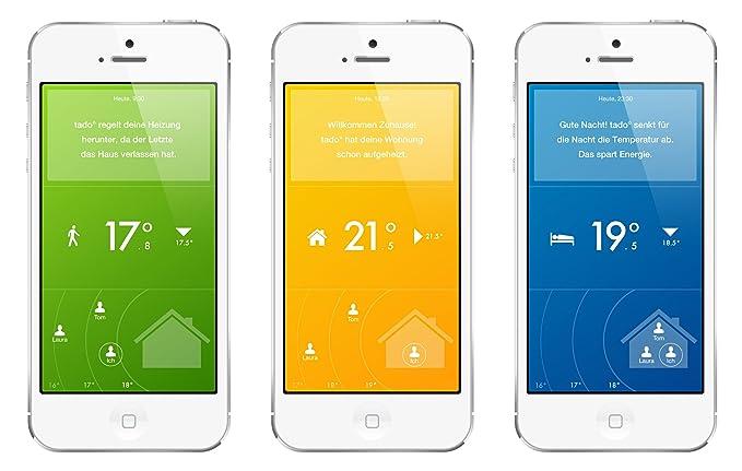 Tado - Aplicación para controlar la calefacción, con kit de conectores: Amazon.es: Bricolaje y herramientas