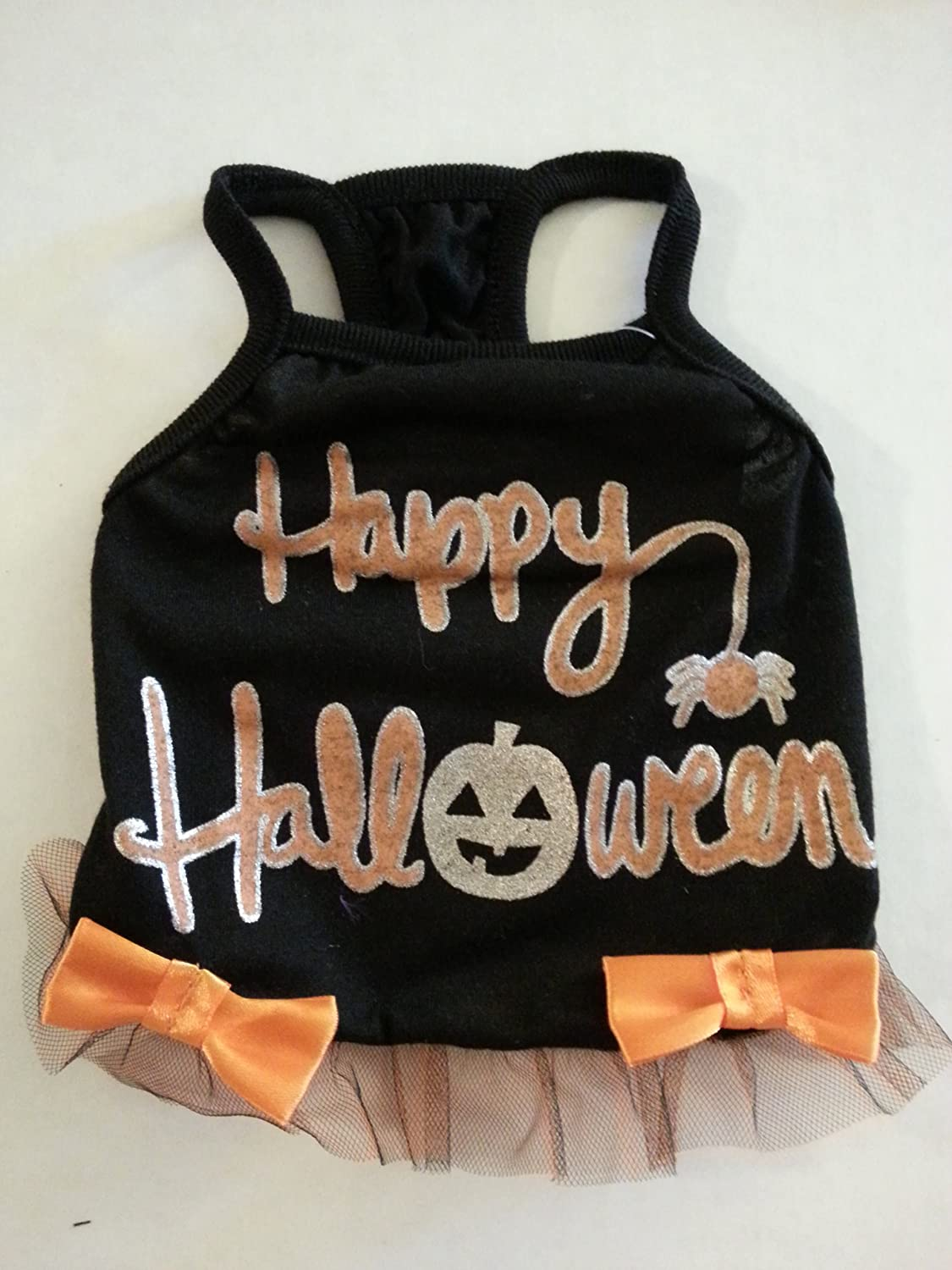 Dog Costume Size Small Happy Halloween by Unknown