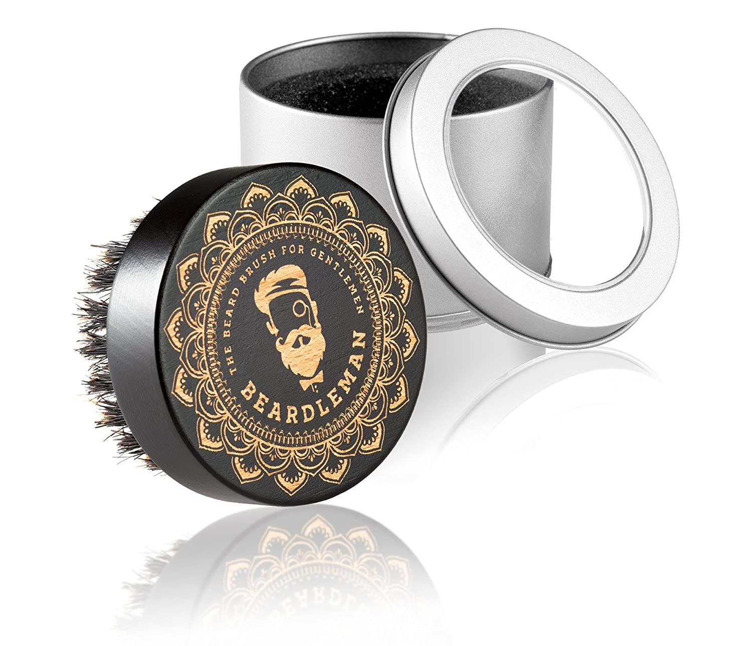 New. Beardleman's Premium Beard Brush with Genuine Boar Bristle and Elegant and Unique Design – Great to Repeat Beards. This is a must for any gentleman