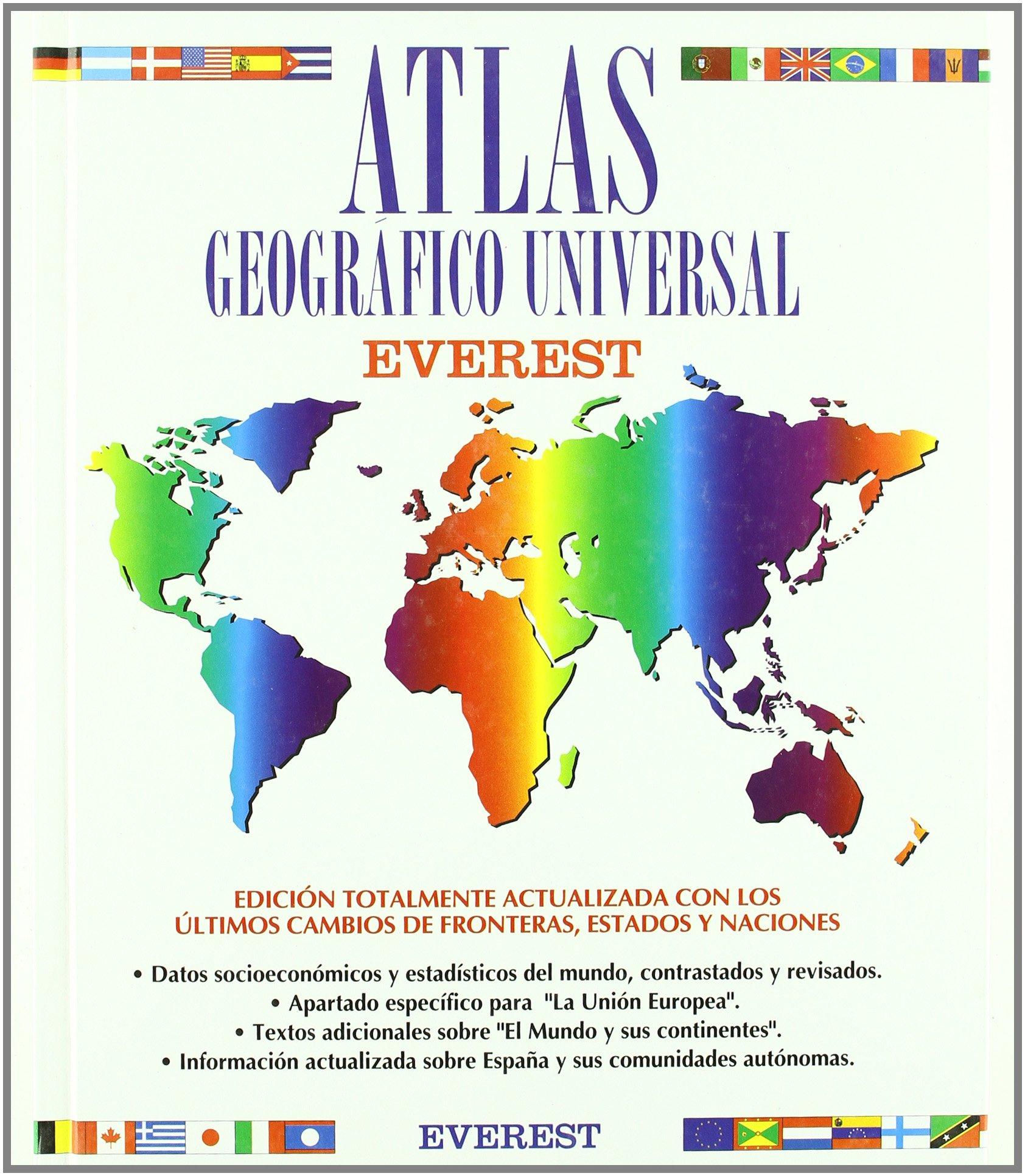 Atlas geográfico universal (Atlas Everest): Amazon.es: V.V.A.A.: Libros