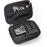 SHBC Medium-formaat Draagtas Compatibel met DJI Osmo Action Draagbare Hard Box Fit voor Osmo Action Camera en Batterijen, Waterbestendig