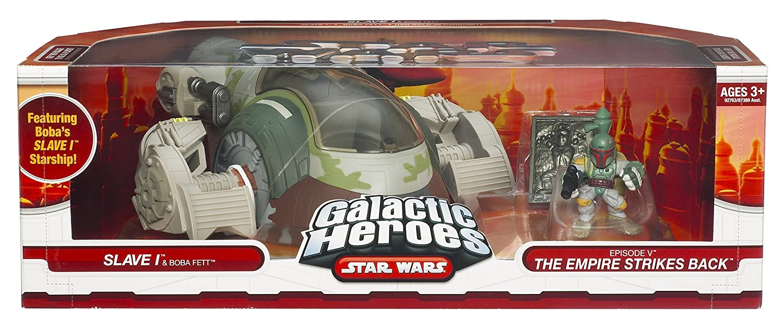 Star Wars Galactic Heroes Cinema Scene Slave 1 Hasbro 927630000