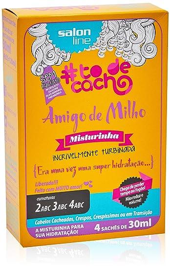 Linha Tratamento ( ToDeCacho) Salon Line - Amigo De Milho Misturinha  Era  Uma 86ec8e38854