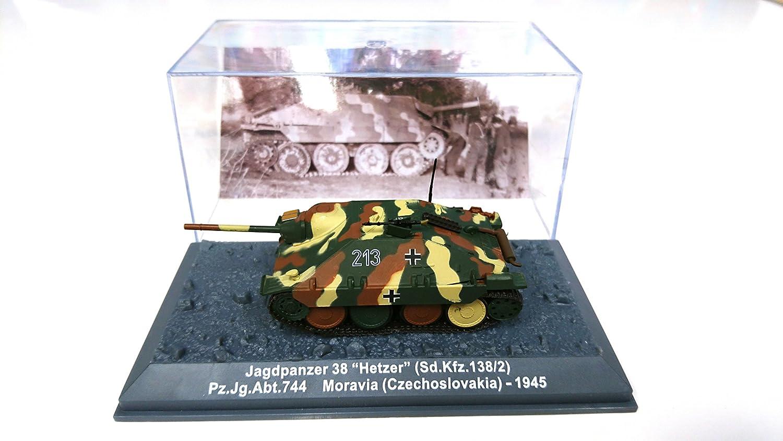 """1/72 Jagdpanzer """"Hetzer"""" (Sd. Kfz. 138/2) - 1945 DA16"""