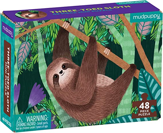 "Mudpuppy Mindfulness 4-in-a-Box Puzzle Set Each Puzzle Measures 6/"" x 8/"" Features Colorful Animal Illustrations Includes 4 Progressive Jigsaw Puzzles for Kids with 4-12 Pieces for Ages 2-5"