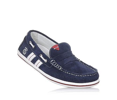 Primigi - Mocasines para niño azul Size: 34: Amazon.es: Zapatos y complementos