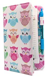Industry Night White with Pastel Cute Owls 5