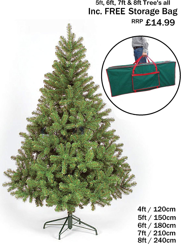 NEW COLORADO GREEN ARTIFICIAL CHRISTMAS TREE 7FT - CT03238