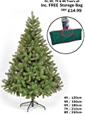 NEW COLORADO GREEN ARTIFICIAL CHRISTMAS TREE ((7FT - CT03238))