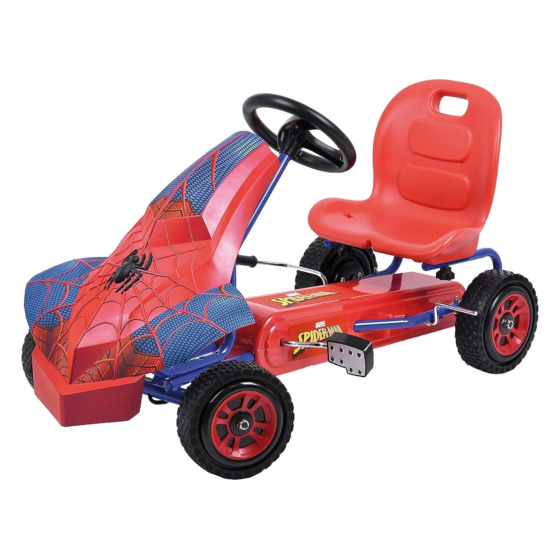 Hauck Marvel Spiderman Kart para niños - Coche a Pedales con 1 ...
