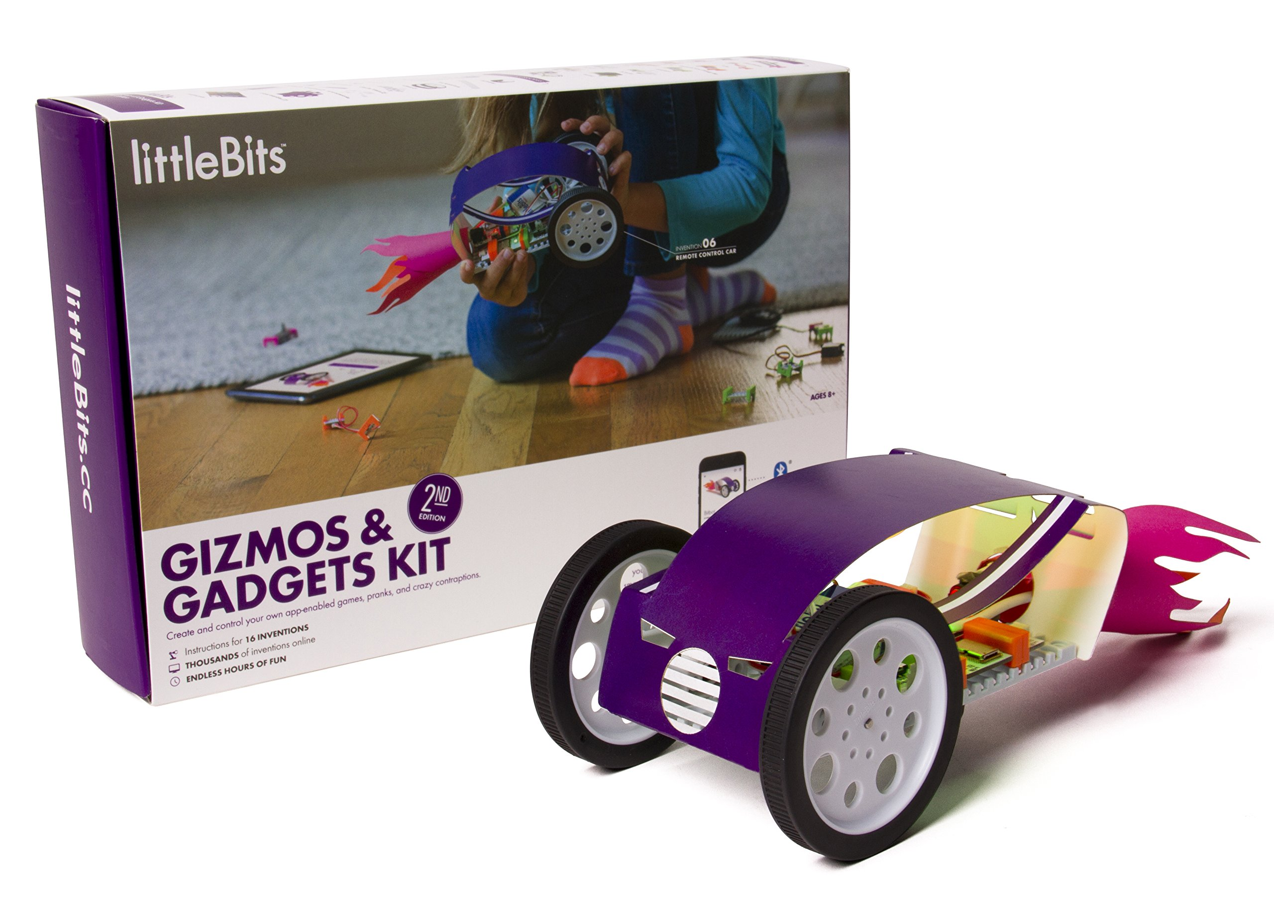 littleBits Gizmos & Gadgets Kit, 2nd Edition by littleBits (Image #1)