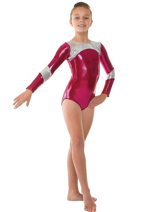 5 opinioni per Tappers and Pointers GYM14- Body a maniche lunghe da ginnastica artistica, in