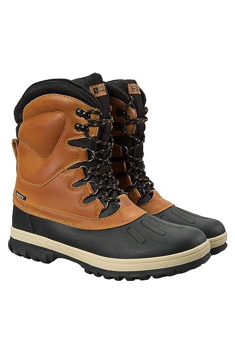 e921bbfeb2d Mountain Warehouse Botas de Nieve Arctic Impermeables para Hombre - Calzado  de Secado rápido