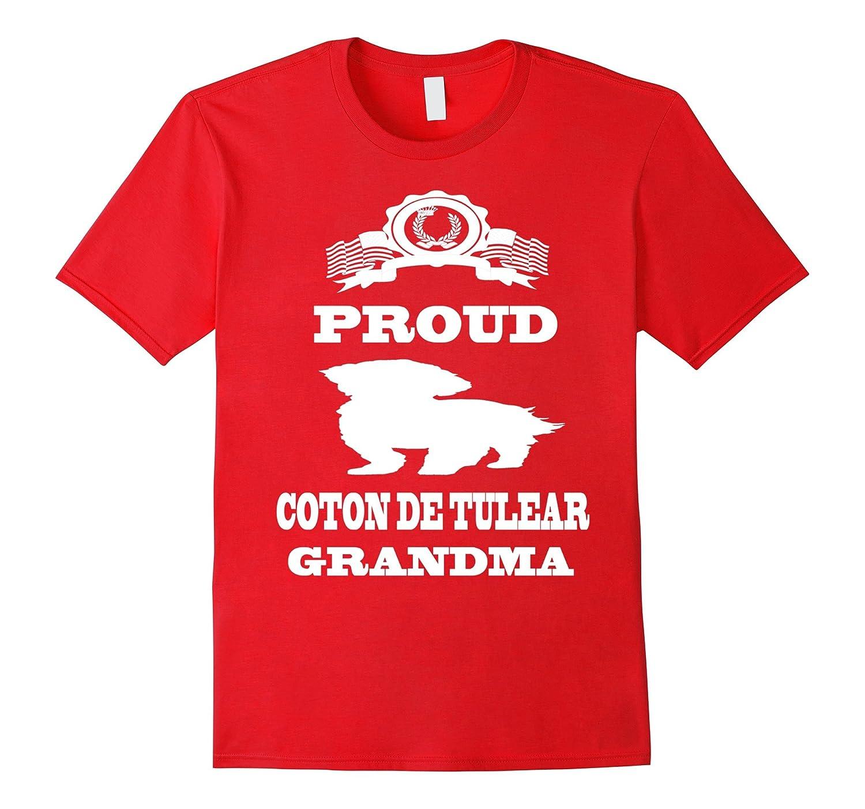 Coton De Tulear Grandma Owner T Shirt-TH